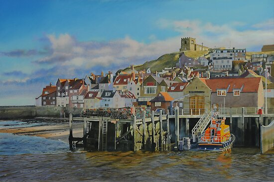 The Whitby Lifeboat Station by Graham Clark