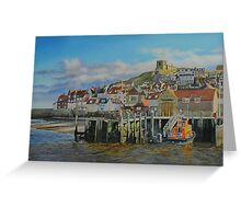 The Whitby Lifeboat Station Greeting Card