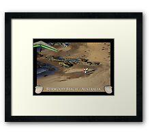 Burwood Beach - Australia Framed Print