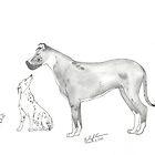 dogs by gklfreeman