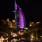 The Burj in Purple by Greg Toope