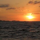 Nassau Sunset by Bonnie Robert