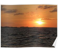 Nassau Sunset Poster