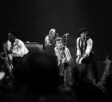 The E Street Band by Mike Norton