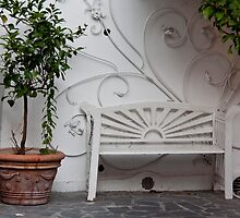 White Bench by phil decocco