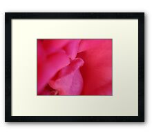 Almost a kiss Framed Print