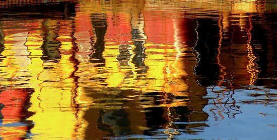 Harbour Reflections II by Lee Donavon Hardy