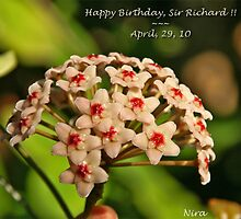 Happy Birthday, Richard!! ~ by Nira Dabush