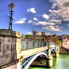 Old Windsor Bridge - HDR by Colin J Williams Photography