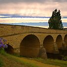 Richmond Bridge on a cloudy day, Tasmania by Elana Bailey
