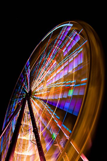 The Wheel close up by Ian Stevenson