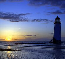 Talacre Sunset by Paul Reay