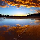 Coolum Beach Sunset by Quentin  Croft