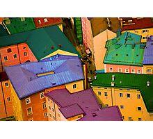 Rooftops - Austria Photographic Print