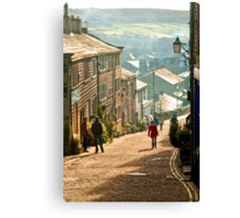 The Highstreet of Yesteryear Canvas Print