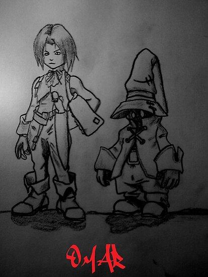 Final Fantasy by Omar Dakhane