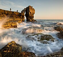 Fishing Pulpit Rock  by igotmeacanon