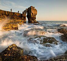 Fishing Pulpit Rock  by igotmeacanon