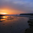 Cornwall: Last Light at Polzeath by Rob Parsons