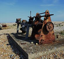 Rusted Winch by Dave Godden