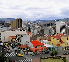 Quito Skyline by Al Bourassa