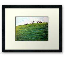 More Sheep Sprinkles Framed Print