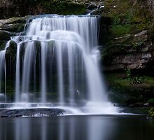 West Burton Waterfall , Yorkshire Dales by jamestphoto