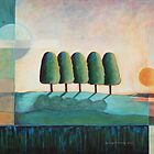 FiveTrees by Joselyn Holcombe