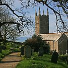 Morwenstow Church by RedHillDigital
