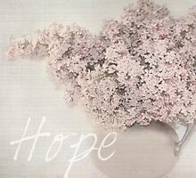 Lilacs in Spring  HOPE by BornBarefoot