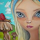 """Alice Finds a Snail"" by Jaz by Jaz Higgins"