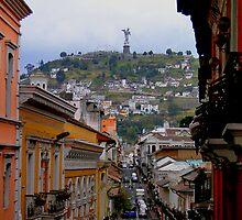 Virgen de El Panecillo III, Quito, Ecuador by Al Bourassa