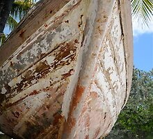 Boat in the Bahamas by Carl LaCasse