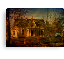 Finn House Canvas Print