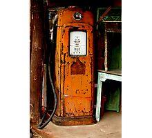 La Vieja Gas - New Mexico Photographic Print