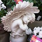 Small Garden Angel by EdsMum