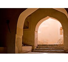 Knowledge is the Key - Oman  Photographic Print