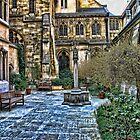 Chapel Courtyard - Paris by safariboy