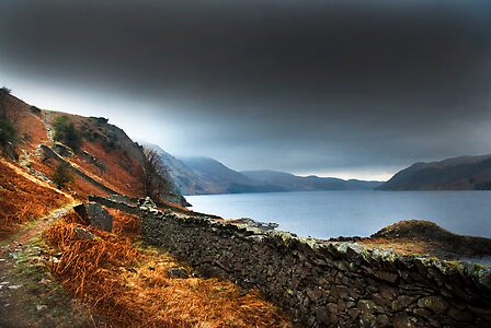 Dark clouds over Haweswater