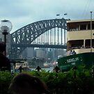the happy bustle of Circular Quay, Sydney by BronReid