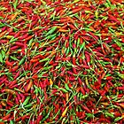 Chillies by Peter Doré