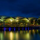 Geelong at night by Ray Yang