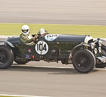Bentley 4 1/2 Litre 2 Seater by Willie Jackson