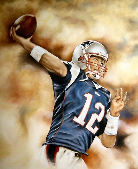 Tom Brady by TiagoFinato