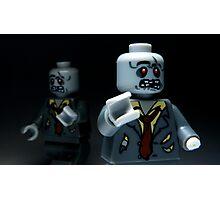 Lego Zombies Photographic Print