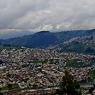 Quito, Ecuador Panorama by Al Bourassa