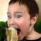Noodle Mayhem...or &quot;Don&#x27;t Laugh When Your Mouth&#x27;s Full!&quot; by sirthomas1960
