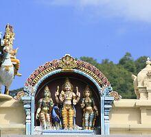 Seychelles Hindu Temple by klphotographics