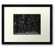 Lots of drips Framed Print