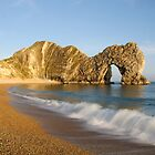 Breaking waves - Durdledoor by Gary Heald LRPS